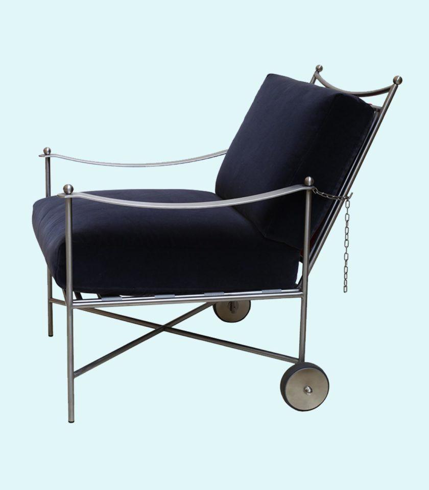 poltrona da giardino reclinabile con angolatura , fino a 180°