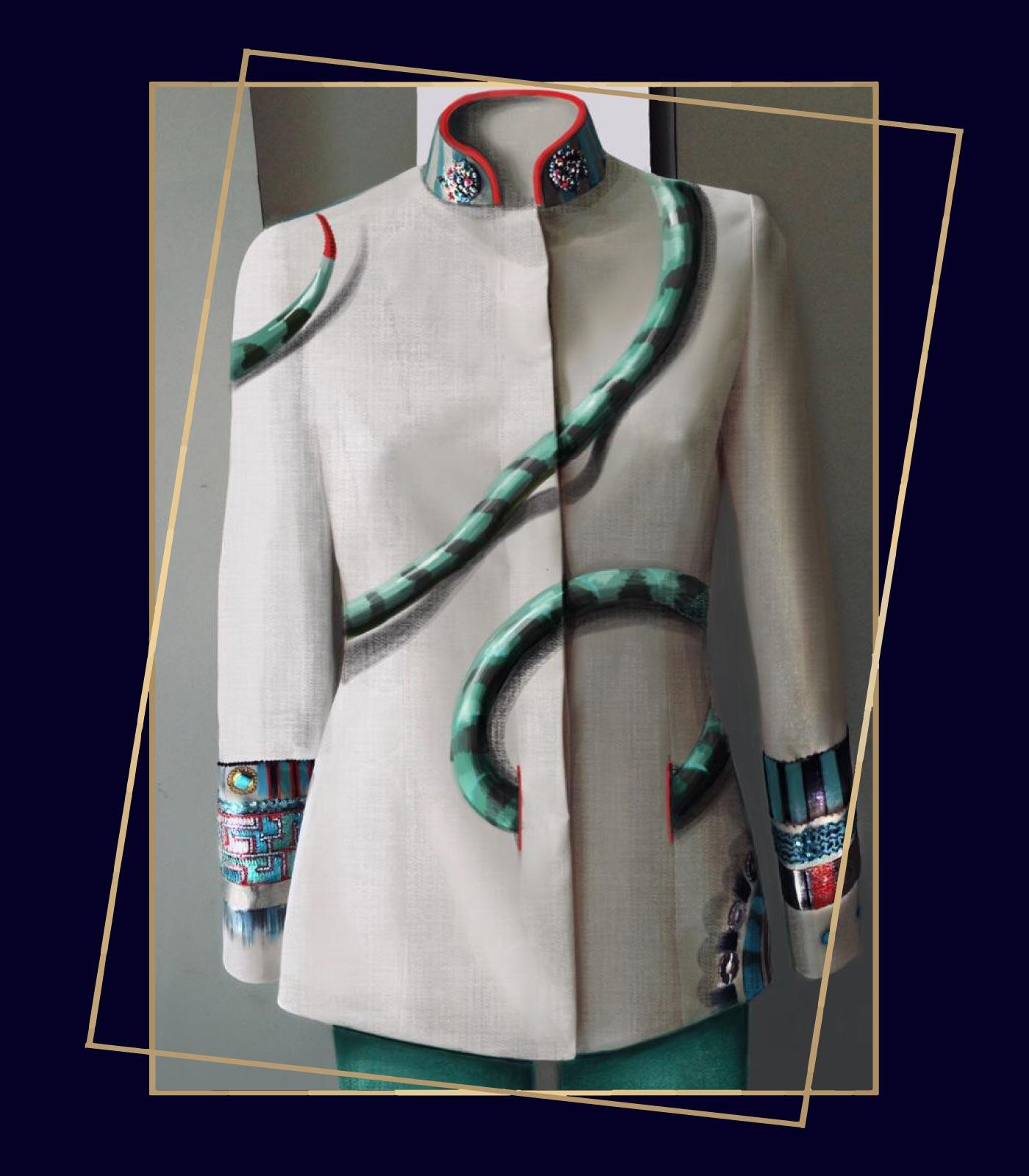 giacche eleganti donne, natura animali e arte