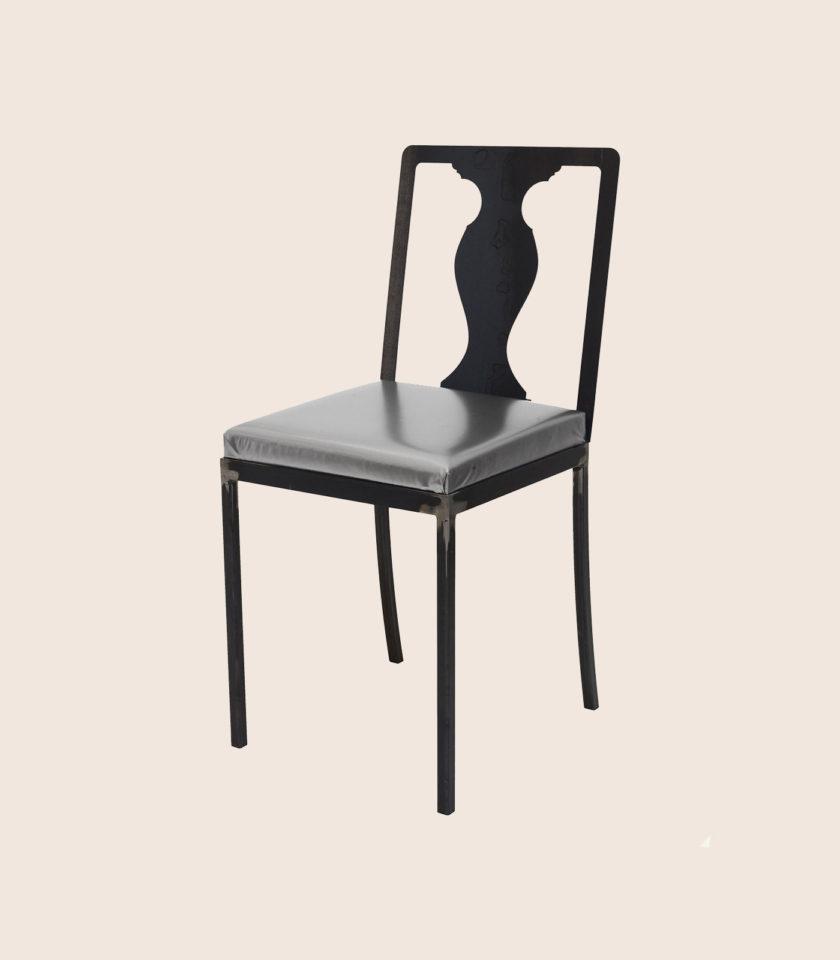 sedie ecopelle industrial arte funzionale