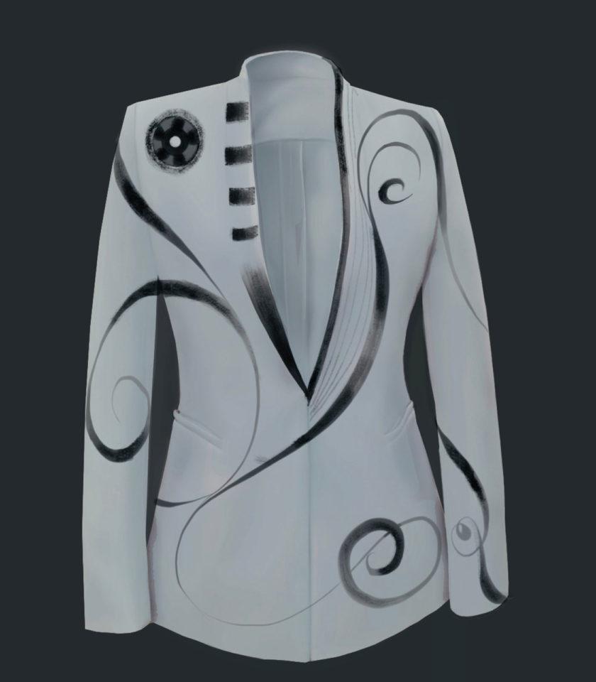 giacca grigia donna