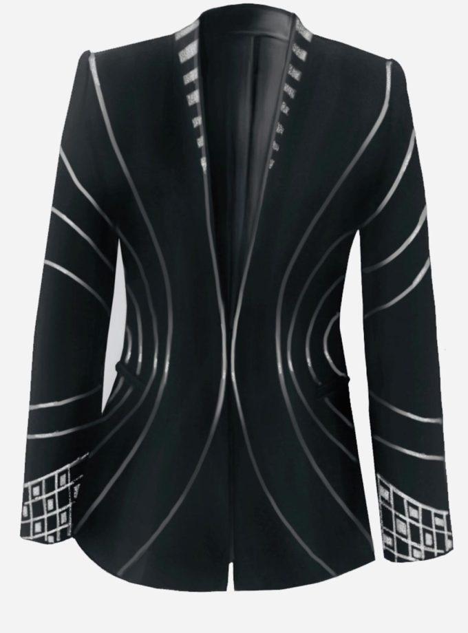 giacca femminile nera