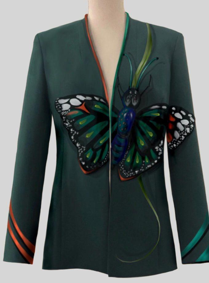 giacca gabardine